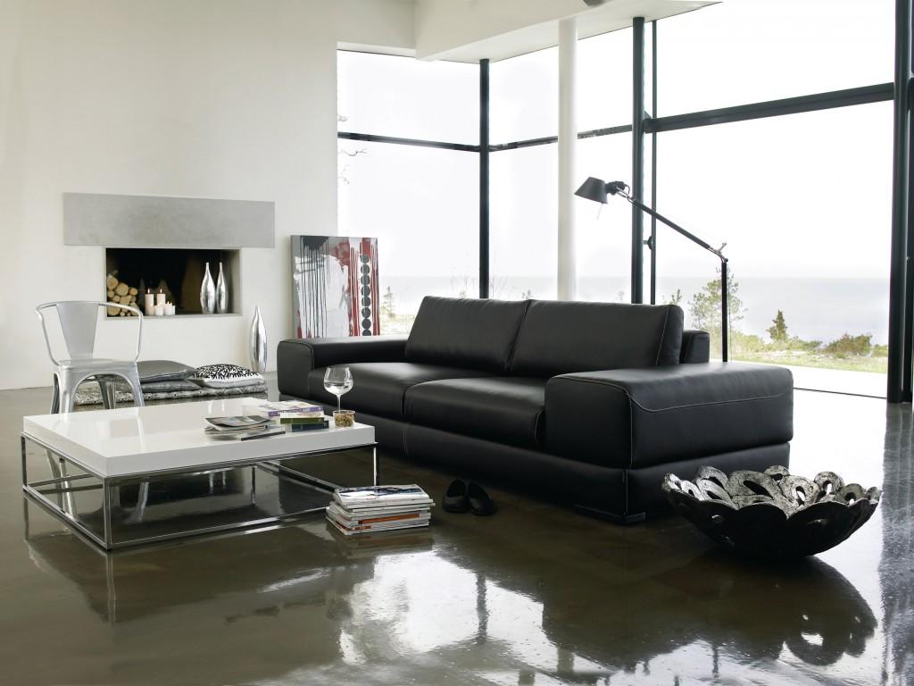 Mebest salon meblowy, skórzane wypoczynki,minimalistyczna sofa