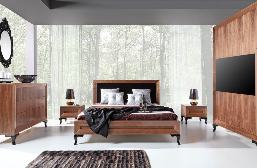Salon meblowy Mebest, Jak ze snu wybieramy nowoczesne meble do sypialni, sypialnia Modern
