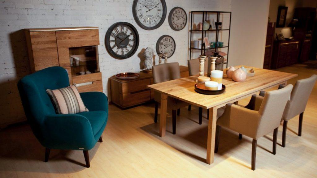 Ozdoby stoły i krzesła salon meblowy Mebest zdjęcie nr 12