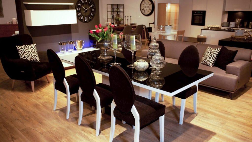Ozdoby stoły i krzesła salon meblowy Mebest zdjęcie nr 14