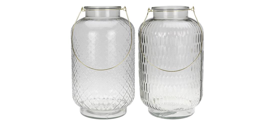 Koopman lampion, szkło, dwa wzory