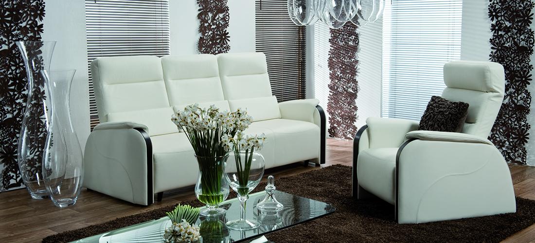 Vero sofa Narciso Bianco