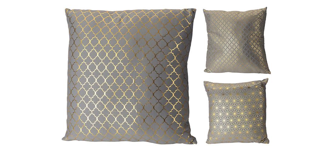 Koopman poduszka, bawełna z dodatkiem materiału syntetycznego, trzy wzory