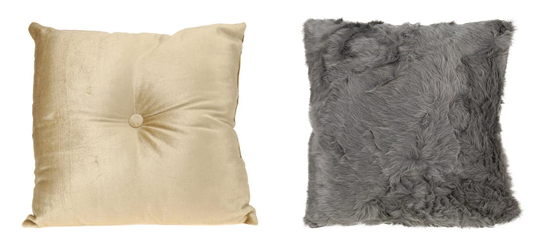 Koopman poduszki, całe lub z dodatkiem materiału syntetycznego