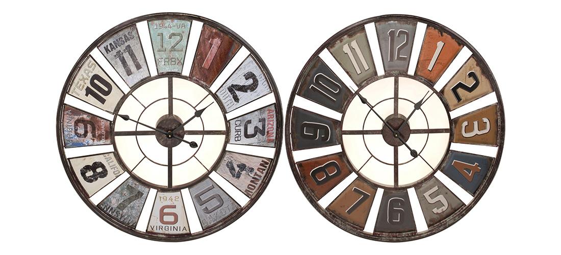 Koopman zegar, metal, dwa rodzaje