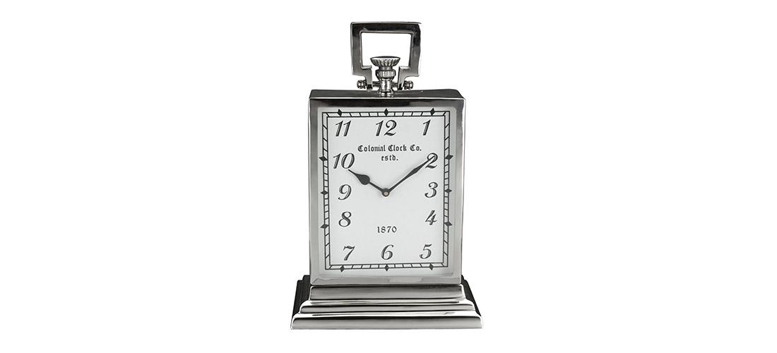 Koopman zegar, stojacy, metal, szklo