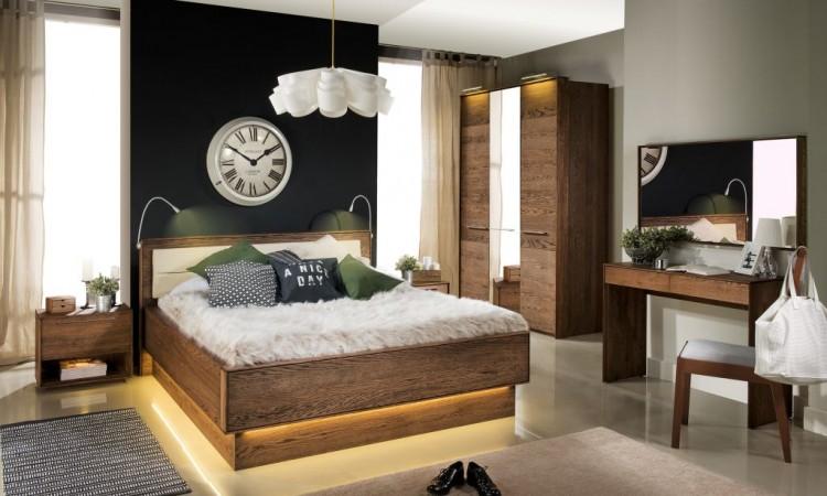Salon meblowy Mebest, Jak ze snu wybieramy nowoczesne meble do sypialni, dekort sypialnia Riojpg