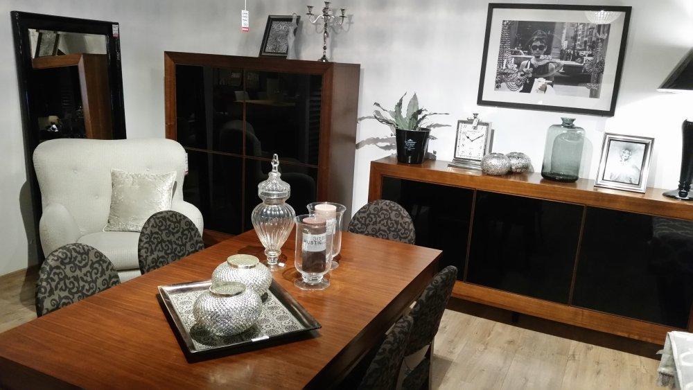 Pokój dzienny komody regały szafki RTV i półki salon meblowy Mebest zdjęcie nr 24