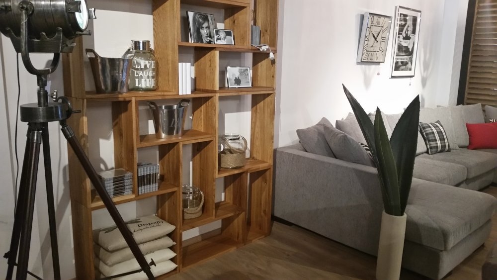 Pokój dzienny komody regały szafki RTV i półki salon meblowy Mebest zdjęcie nr 29