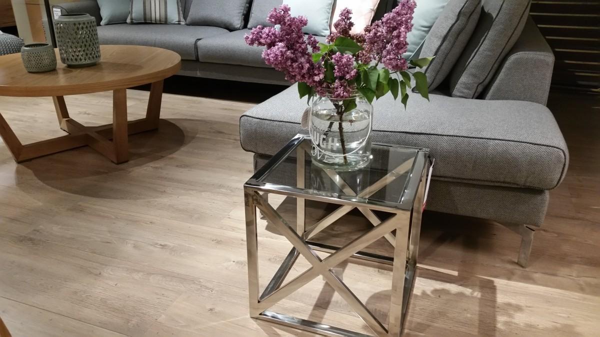 Pokój dzienny stoliki kawowe i ławy salon meblowy Mebest zdjęcie nr 16