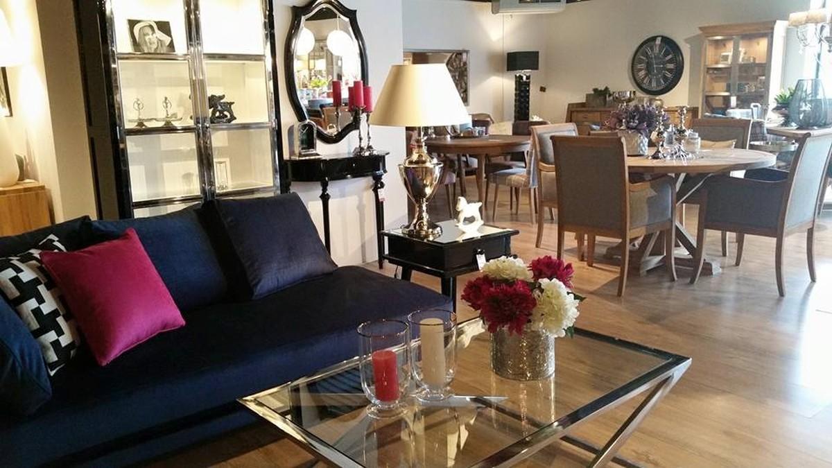 Pokój dzienny stoliki kawowe i ławy salon meblowy Mebest zdjęcie nr 19