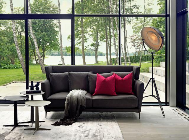 Salon meblowy Mebest, Ekskluzywne meble wypoczynkowe, Luksusowa Sofa Aurora