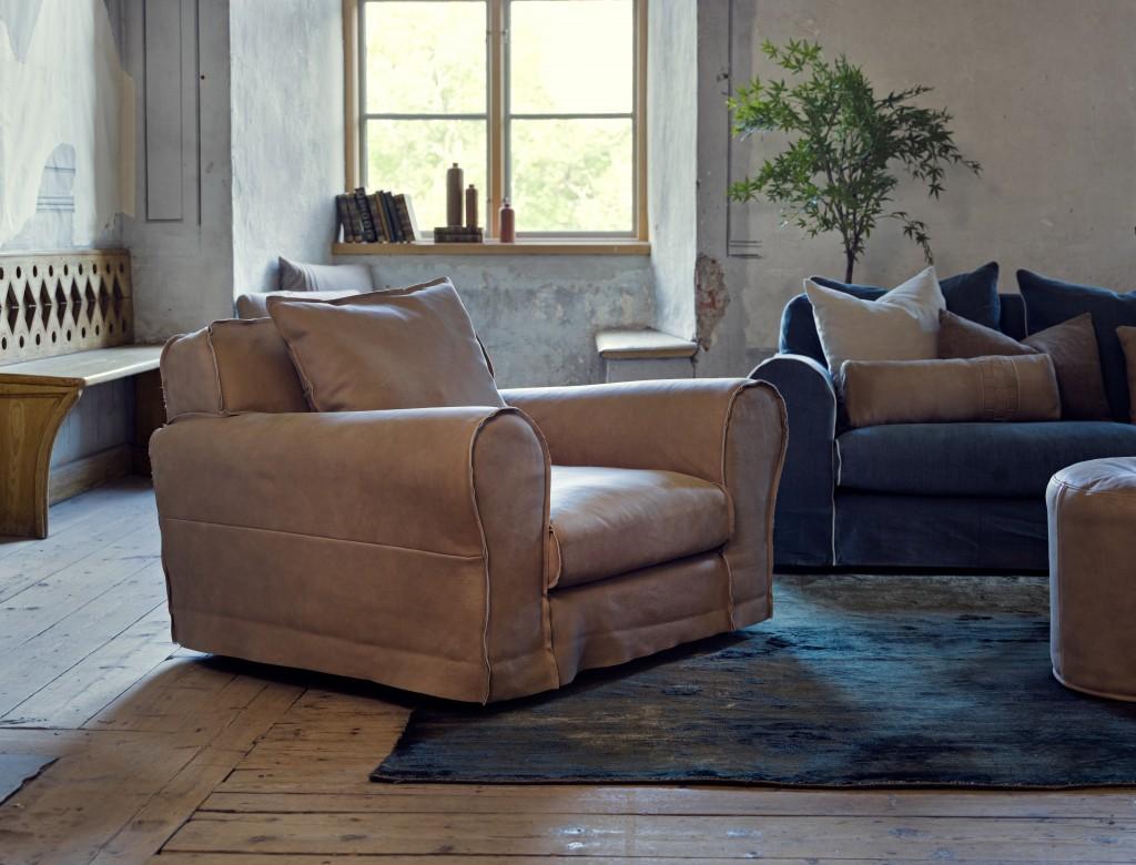 Mebest salon meblowy, skórzane wypoczynki,industrialny fotel
