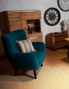 Salon meblowy Mebest, Piękne meble do salonu, kolorowy fotel