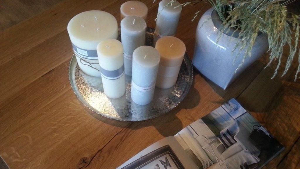 Ozdoby lampy lampiony świece i świeczniki salon meblowy Mebest zdjęcie nr 4