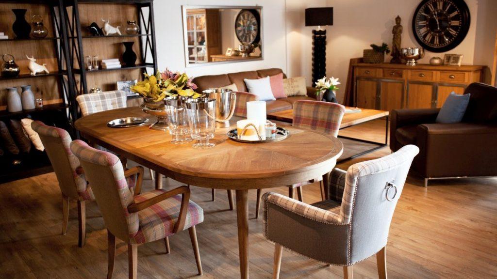 Ozdoby stoły i krzesła salon meblowy Mebest zdjęcie nr 9