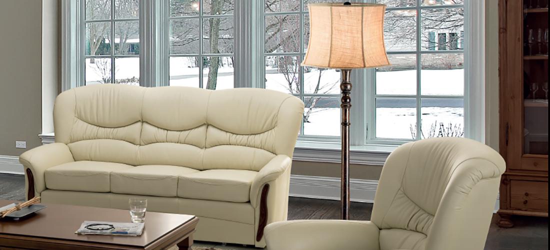 Meblomak sofa i fotel Genua