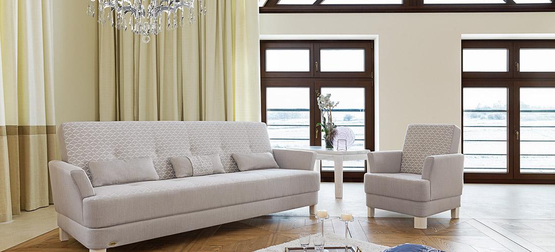 Unimebel sofa i fotel Finezja