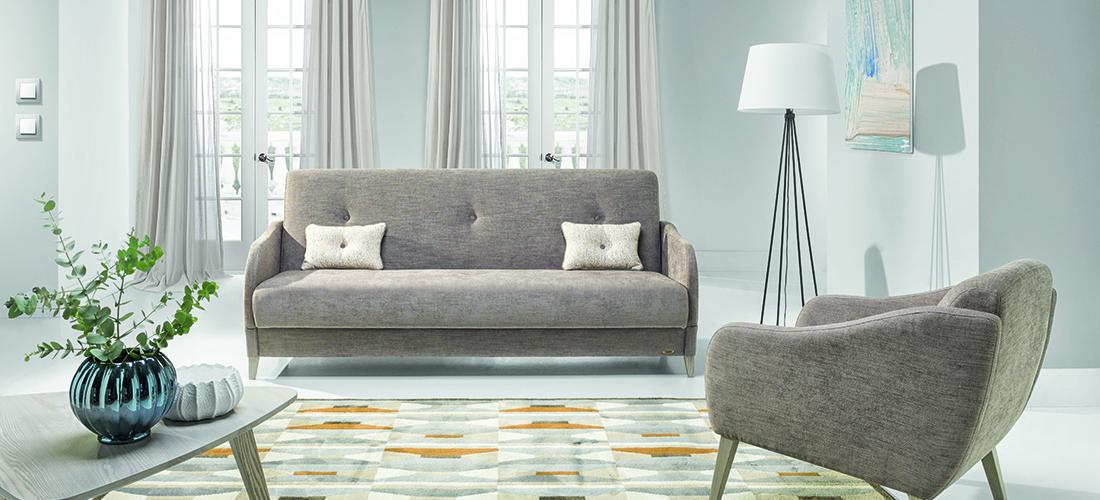 Unimebel sofa i fotel Napoli