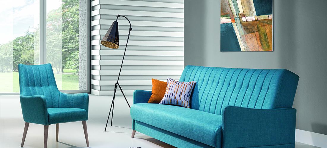 Unimebel sofa i fotel Vittorio