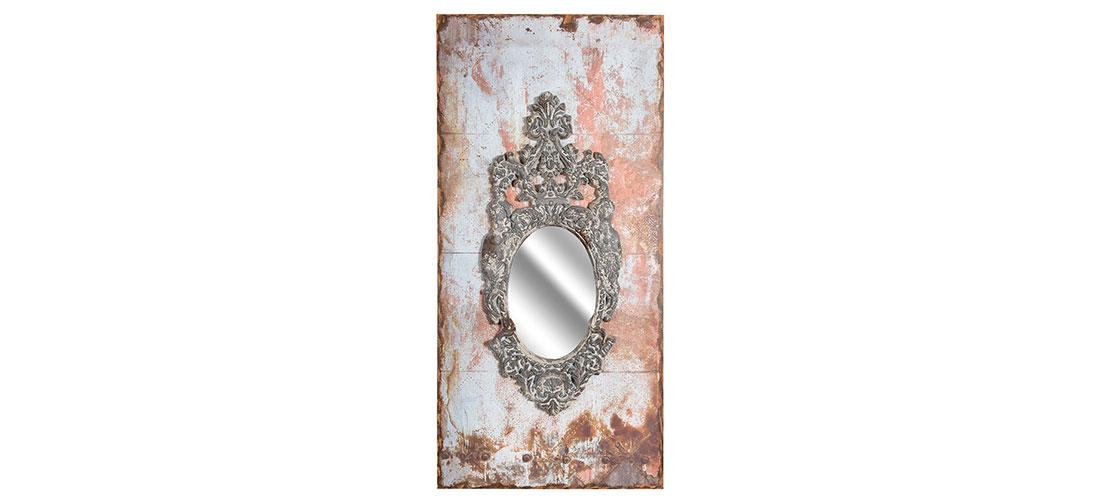 Vintage lustro wysokie
