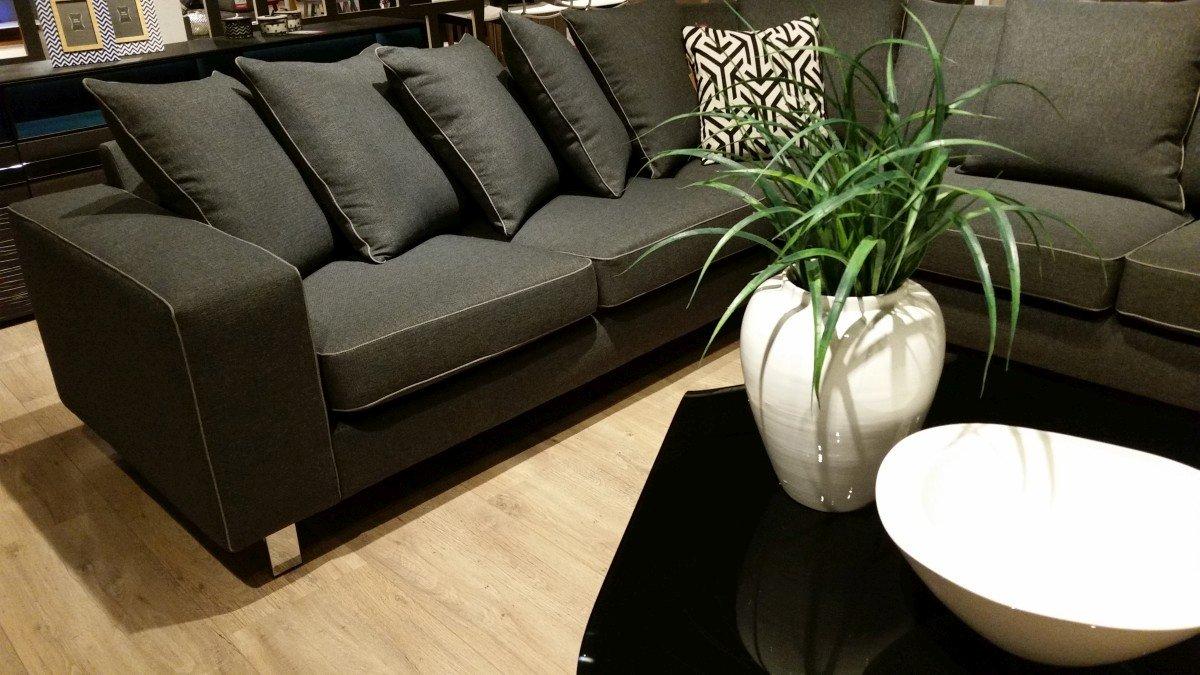 Pokój dzienny narożniki sofy i fotele salon meblowy Mebest zdjęcie nr 18