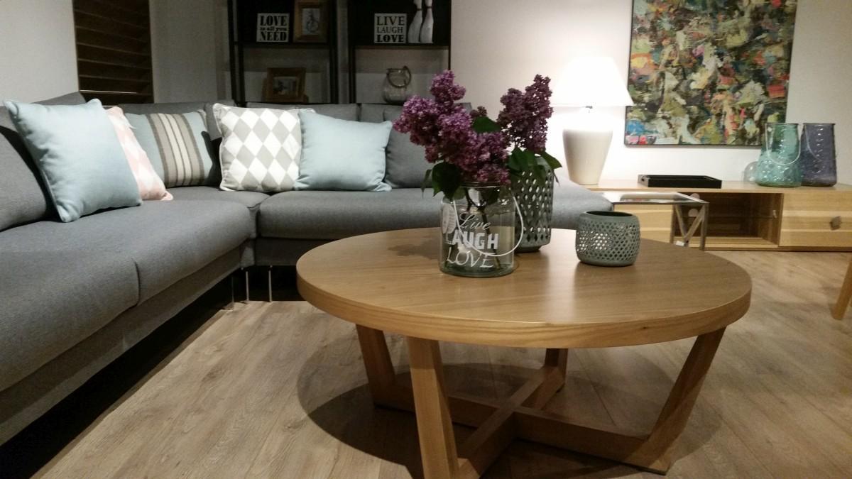 Pokój dzienny stoliki kawowe i ławy salon meblowy Mebest zdjęcie nr 20