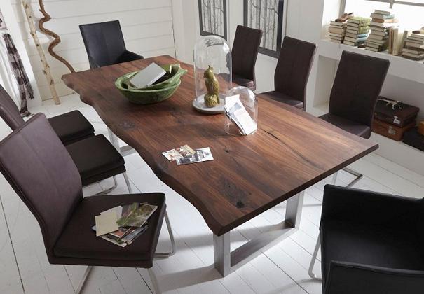 Trebord stół do jadalni - orzech