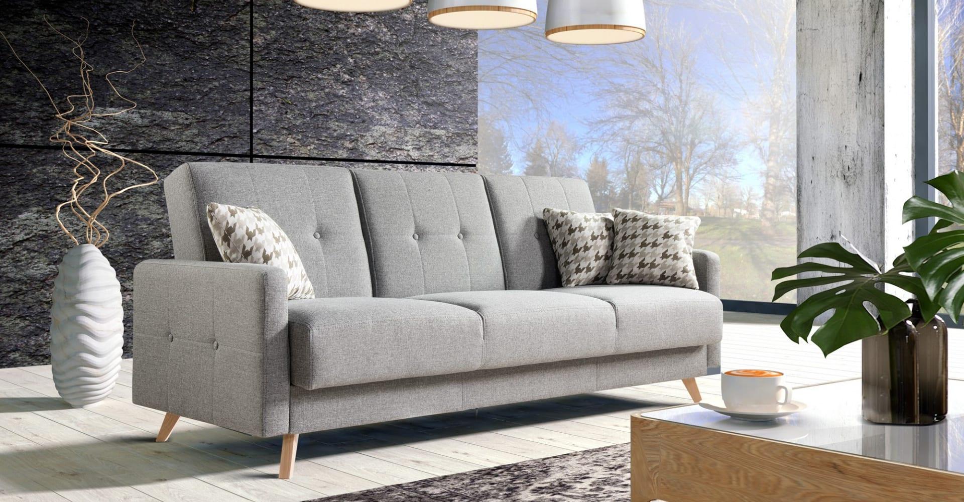 Salon meblowy Mebest Poznan, meble Caya Design sofa Scandi